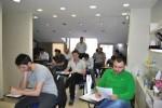 kpss'den bir sınav salonu