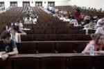 üniversite sınav salonlarından