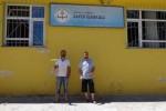 okullarını boyadılar