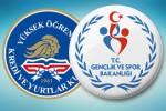 kredi ve yurtlar kurumu ve bakanlık logosu