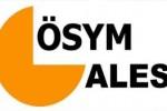 ales sınavı ile ilgili ösym logosu